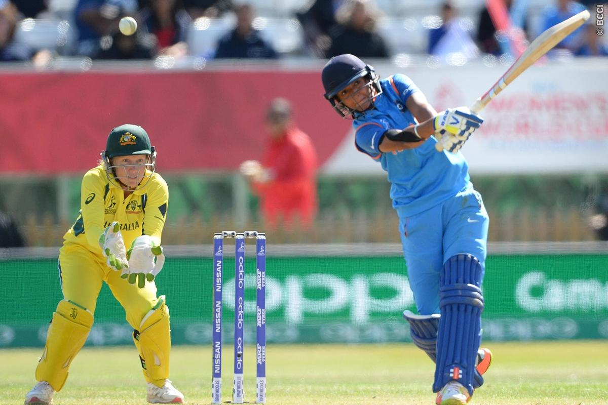 Harmanpreet Kaur Hits 3rd ODI Hundred Vs Australia