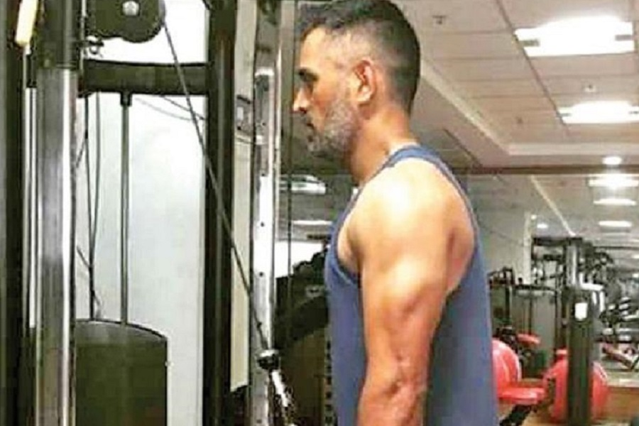MS Dhoni Gym 1