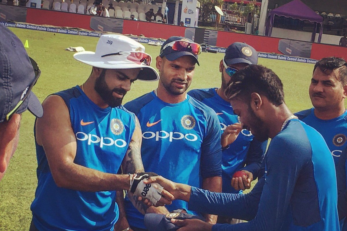 Hardik Pandya Makes Test Debut; Dhawan in for KL Rahul