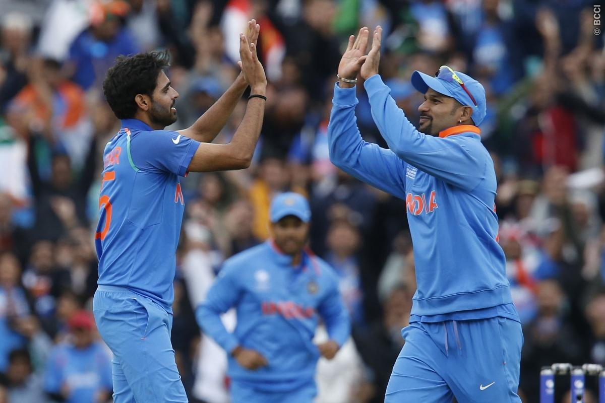 Dhawan, spinners put India 1-0 up