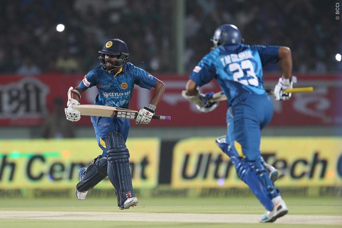 Tharanga banned for next two ODIs, Kapugedara to lead