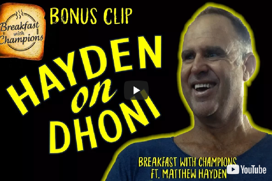 Mathew Hayden Reveals 'Child-like' Side of MS Dhoni