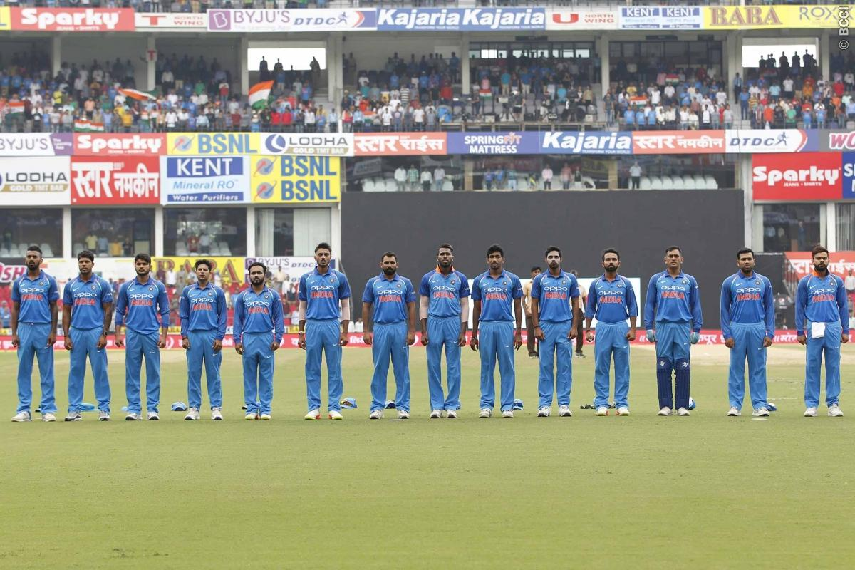 Team India for three-match ODI series against New Zealand Announced
