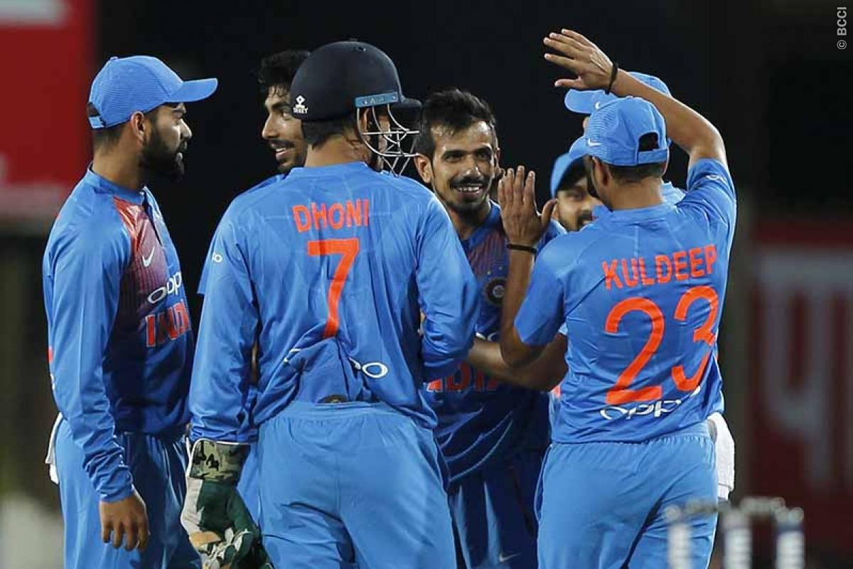 "Kohli Praises Indian Spinners, says ""Bowlers upto the Mark"""