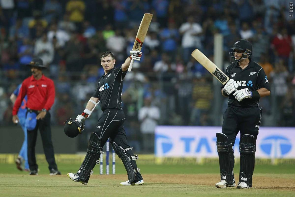 Live Score India vs New Zealand 1st ODI : Taylor and Lathom 200 Runs Steer New Zealand to Win