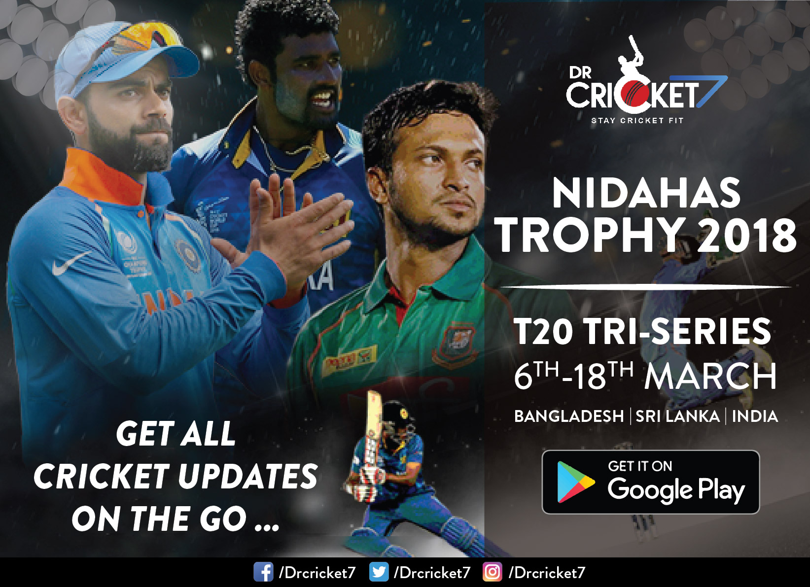 Team India for Nidahas Trophy 2018 announced