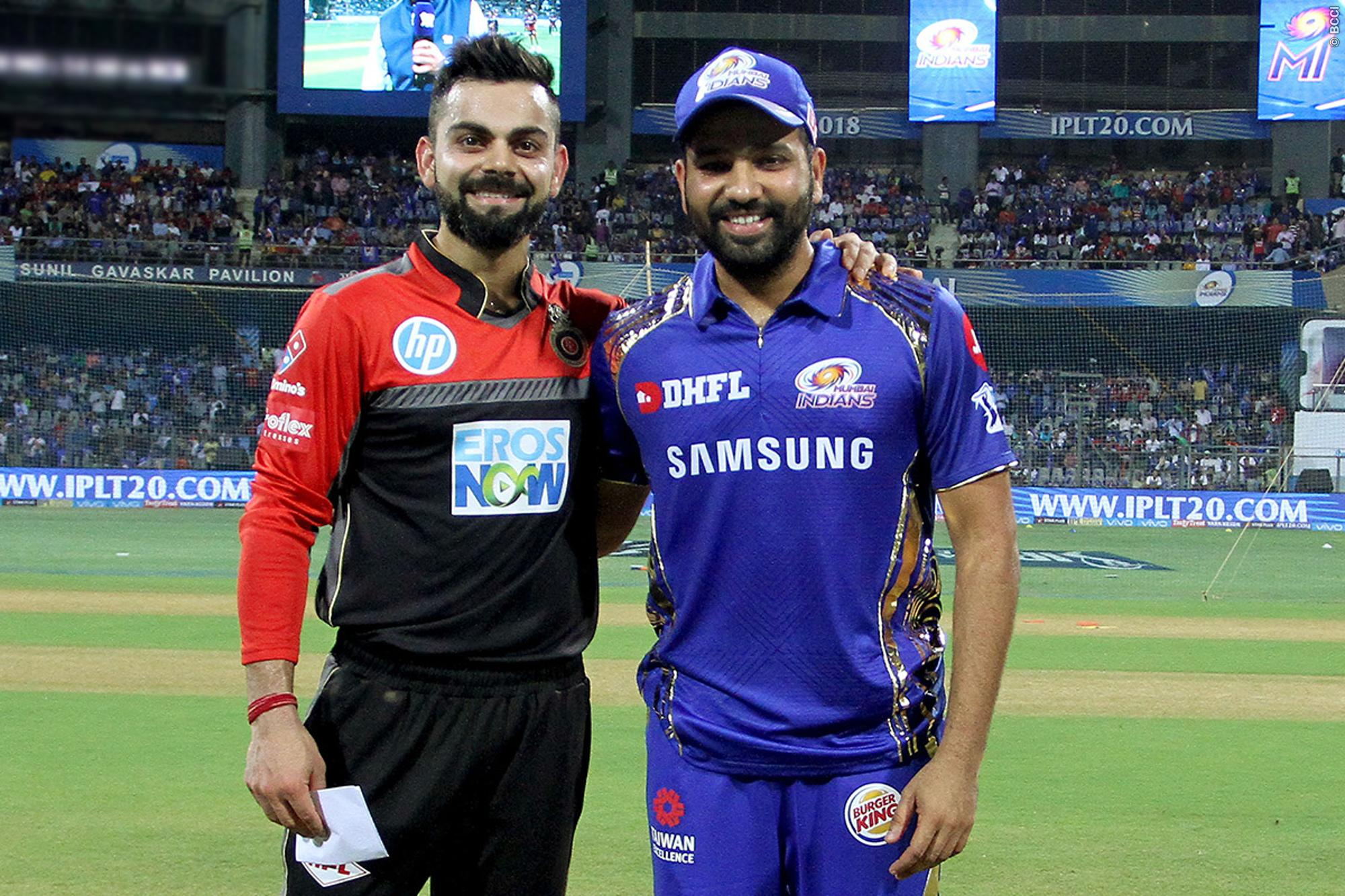 Match Preview: Mumbai Indians v Royal Challengers Bangalore
