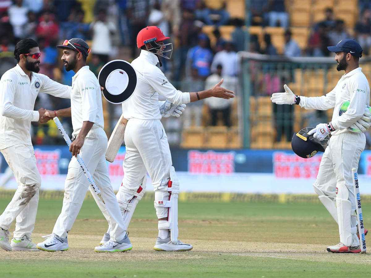 India crush Afghanistan inside two days