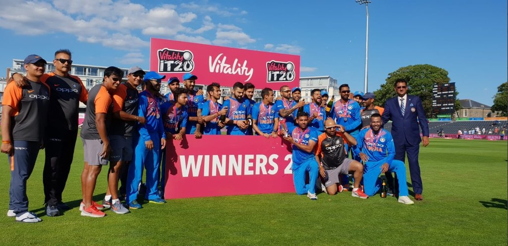 India Beat England by 7 wickets, Win Series 2-1