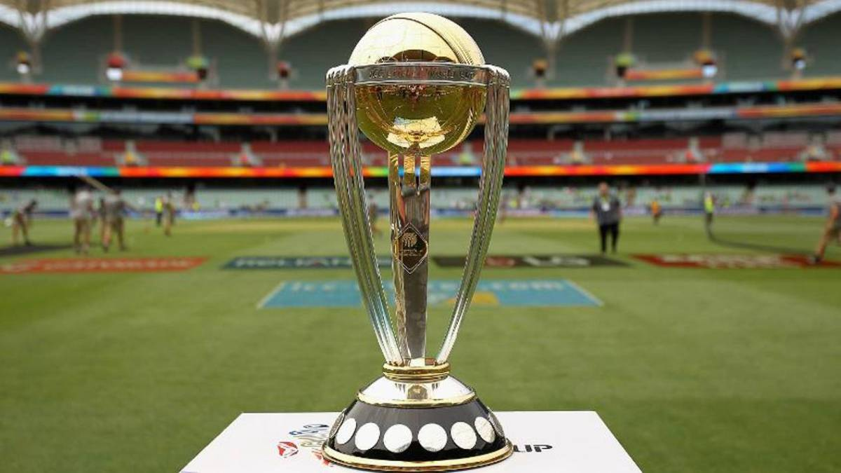 ICC World Cup Trophy reached Kolkata