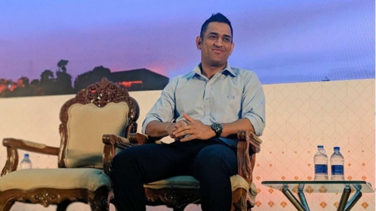 "MS Dhoni speaks on importance of ""safeguarding"" players."