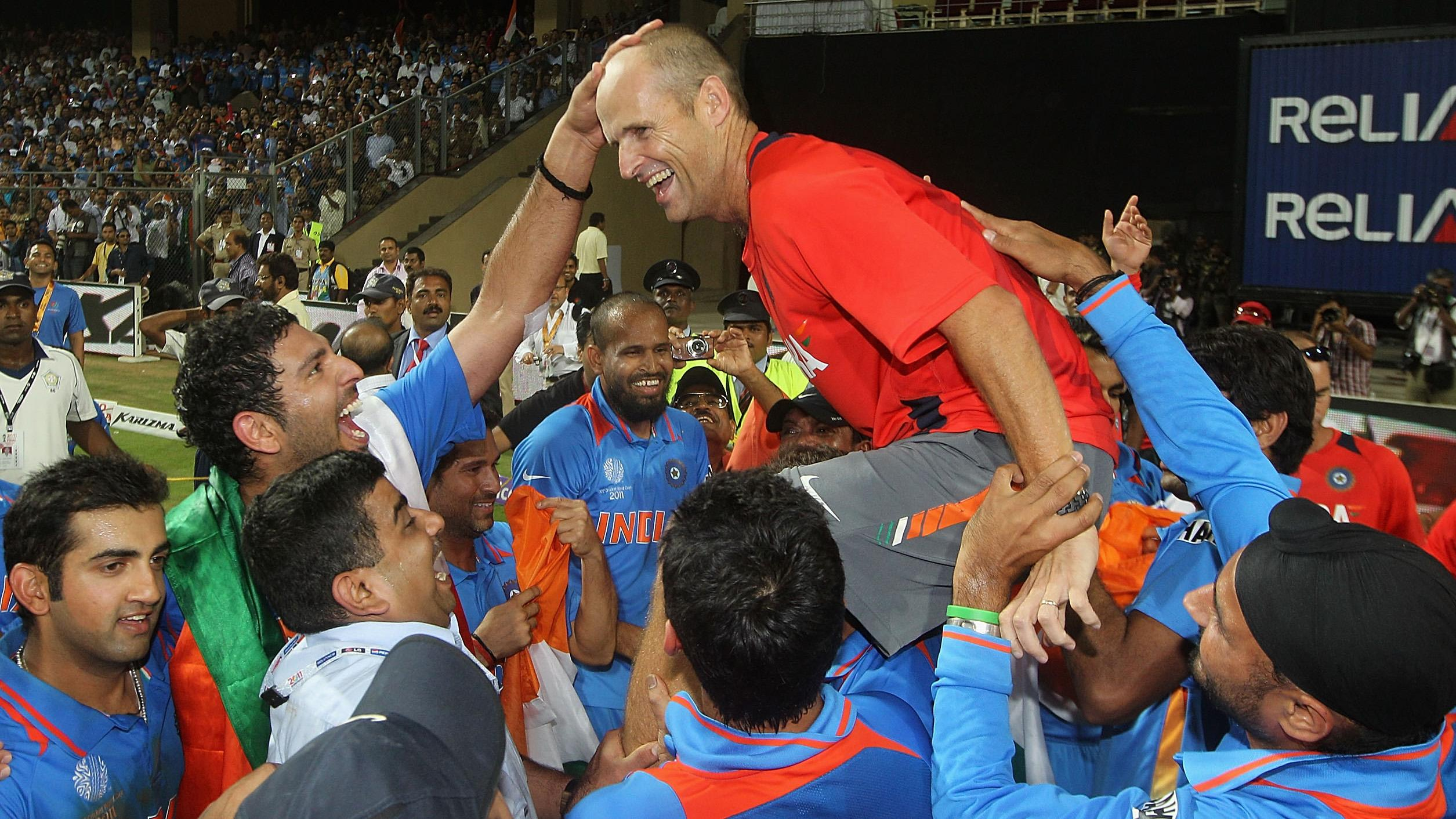 Gary Kirsten among three shortlisted for Indian coaching role
