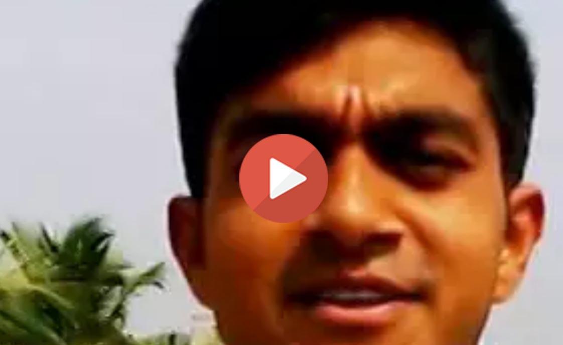 Vijay Shankar wishing MS Dhoni Happy Birthday