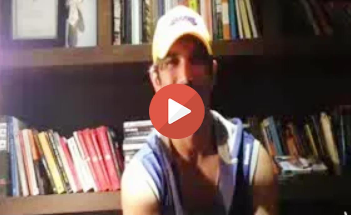 Sushant Singh Rajput wishing MS Dhoni Happy Birthday