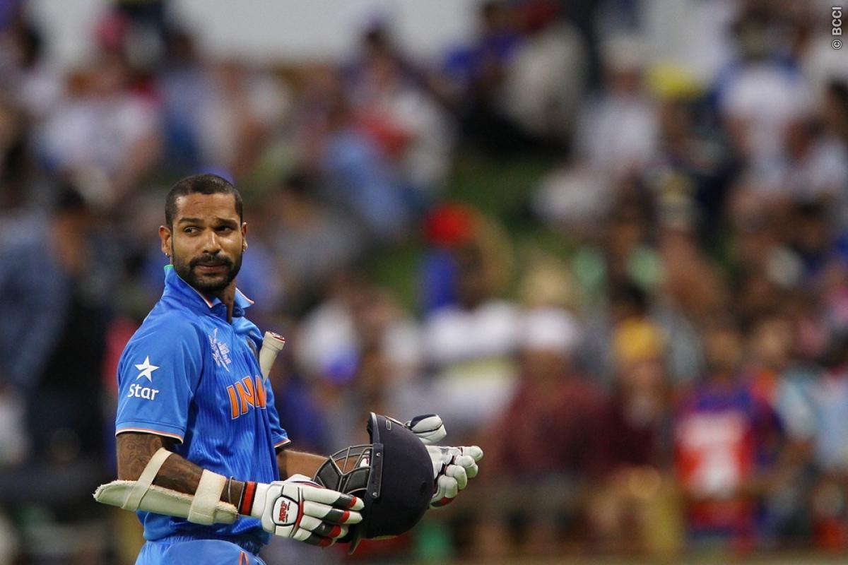 Shikhar Dhawan to Miss First 3 ODIs against Australia