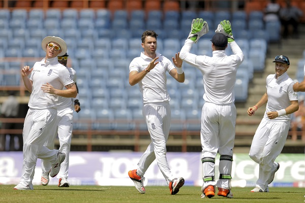 James Anderson Guides England to Thumping win over Sri Lanka