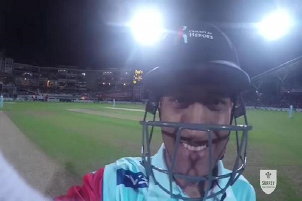 Cricket for Heroes: Watch MS Dhoni fixes Brendon McCullum's GoPro [VIDEO]