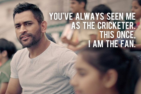 Watch MS Dhoni as a Cricket Fan, Not as a Cricketer in Masters Champions League [VIDEO]