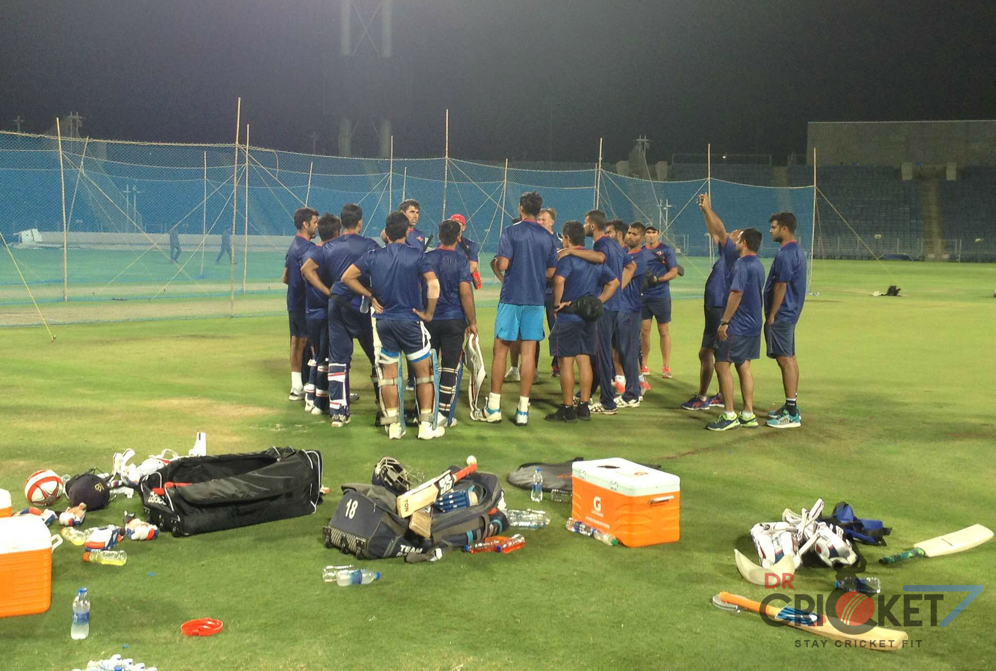 Rising Pune Supergiants Sweat it Out Under Coach Stephen Fleming [Images]