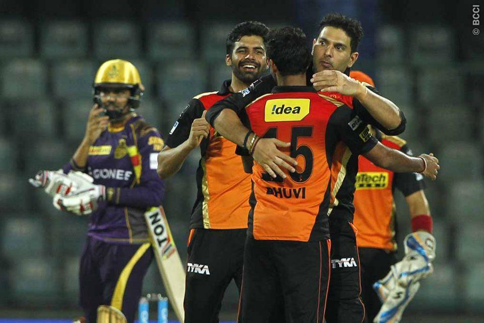 Yuvraj, Bhuvneshwar Kumar Take Sunrisers Hyderabad Close to IPL Final