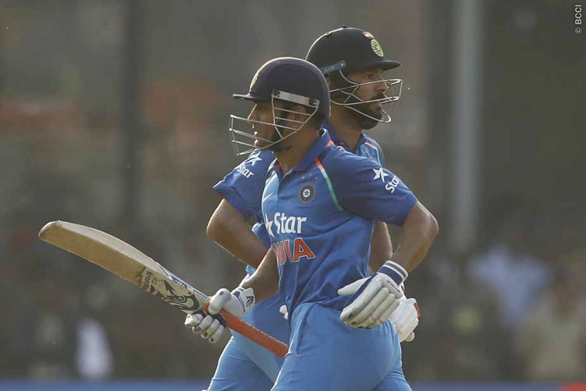 MS Dhoni-Yuvraj Singh Vital Cog for India in Champions Trophy