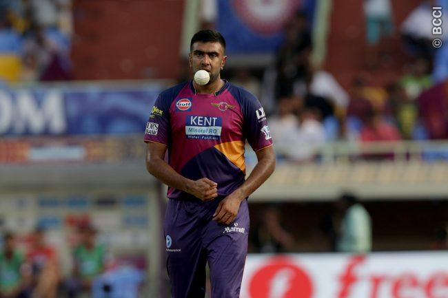 Injury Forces Ravichandran Ashwin out of IPL 2017