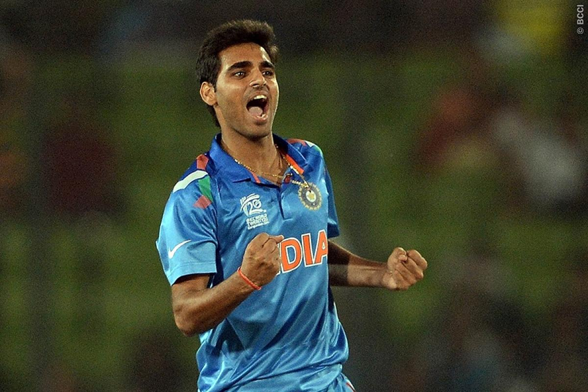 Bhuvneshwar Kumar Showcasing Skills in Champions Trophy