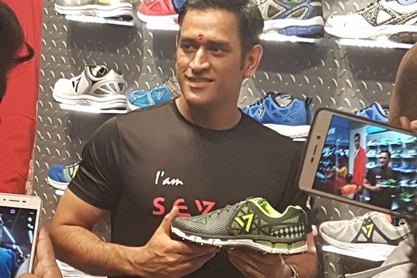 Mahendra Singh Dhoni Opens 'Seven by MS Dhoni' Store in Ranchi