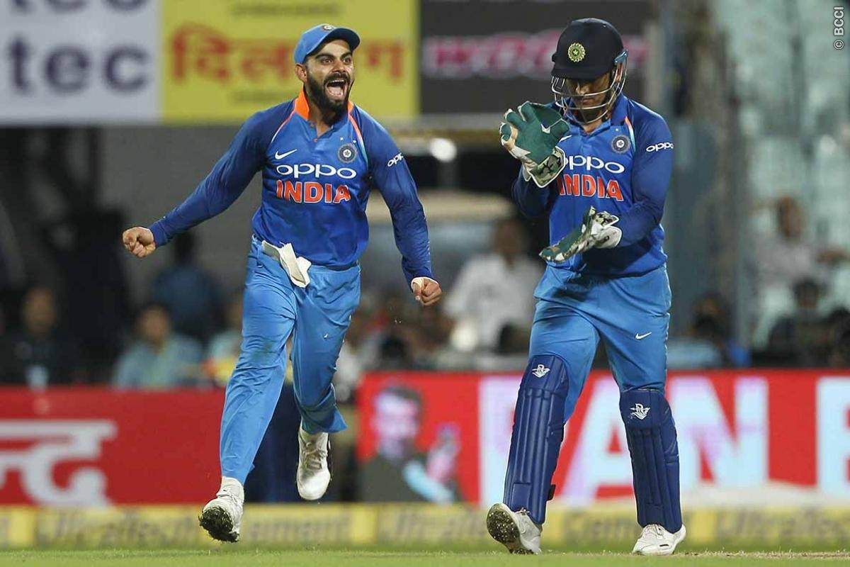 Kohli Eyes Dhoni's Captaincy Record in Third ODI