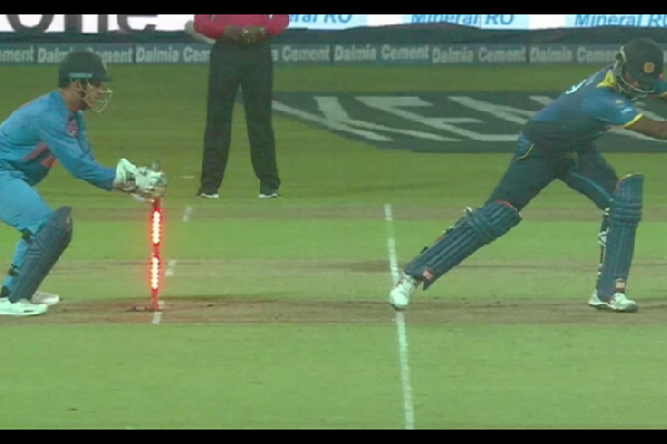 MS Dhoni The GOAT! His Another Super Quick Stumping