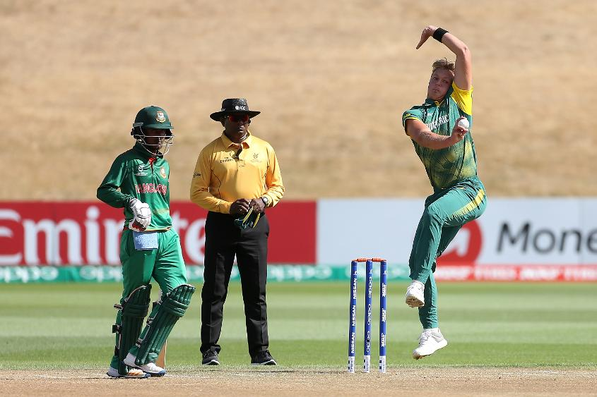 SOUTH AFRICA FINISH FIFTH AFTER JONES AND MNYAKA SHINE WITH THE BALL