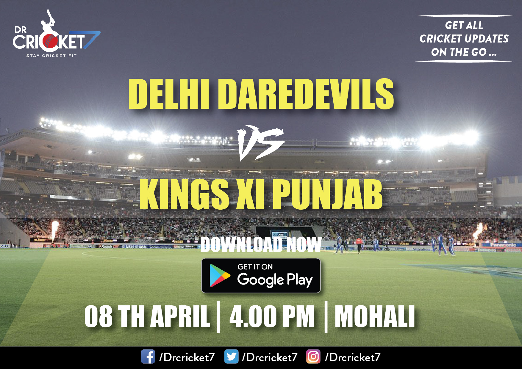 IPL 2018 Live Streaming Information: KXIP V DD and KKR v RCB