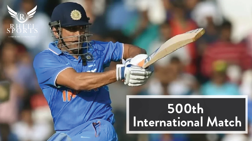 MS Dhoni To Become Third Indian Cricketer To Play 500 International Matches