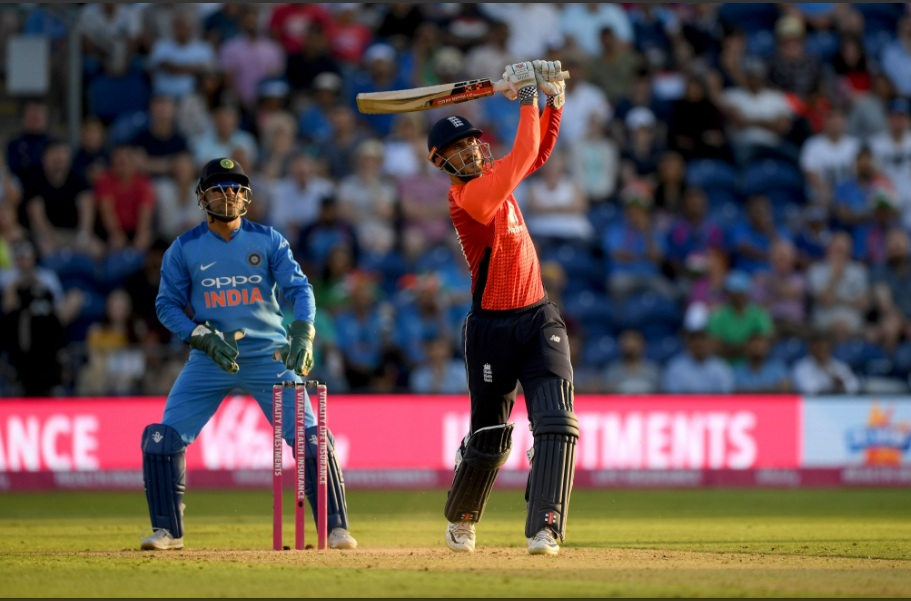 England beat India by 5 wickets in  2nd T20, level series 1-1