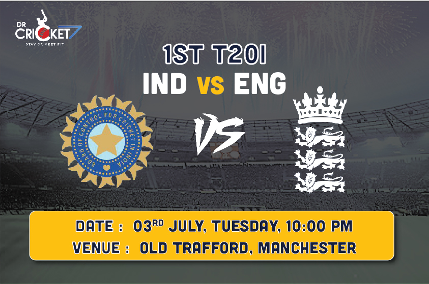 India vs England 1st T20 Preview: India to Take on England at Manchester